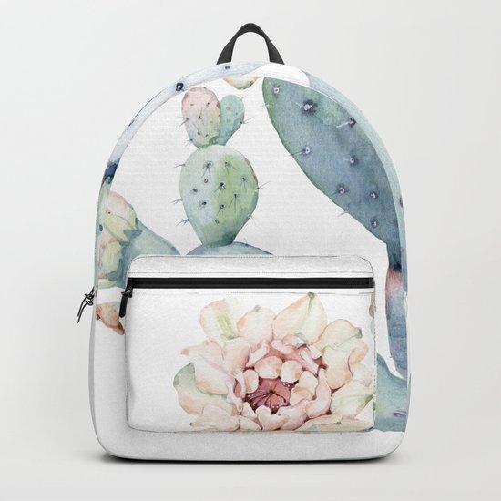 The Prettiest Cactus Backpack