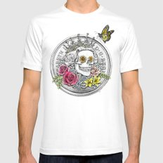 The Eternal Queen MEDIUM White Mens Fitted Tee