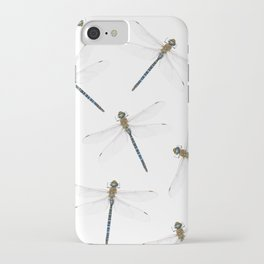 Dragonfly pattern iPhone Case