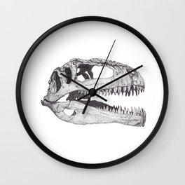 The Anatomy of a Dinosaur II - Jurassic Park Wall Clock