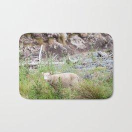 Lamb in Flea Bay. New Zealand Bath Mat