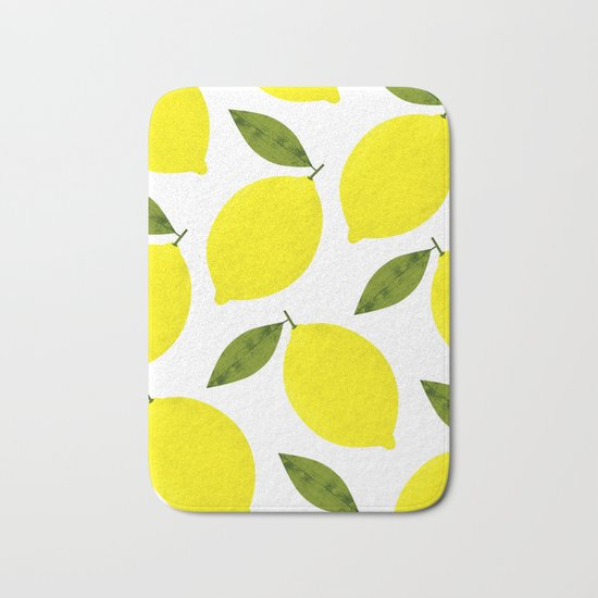 When Life Gives You Lemons Bath Mat