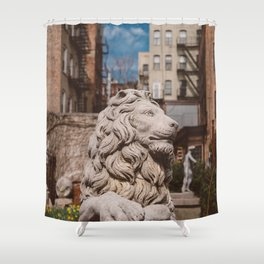 Elizabeth Street Garden III Shower Curtain