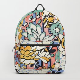Blue Sky Succulents Backpack