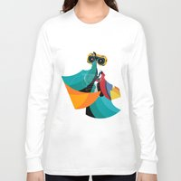 mask Long Sleeve T-shirts featuring Mask by Alvaro Tapia Hidalgo