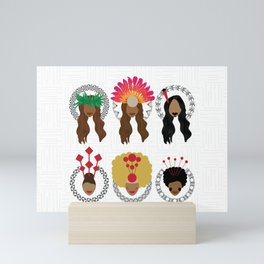 UrbanNesian Women of Pasifika Mini Art Print