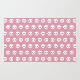 Pixel Skulls - Pink Rug