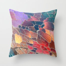 Shattered Prism Throw Pillow