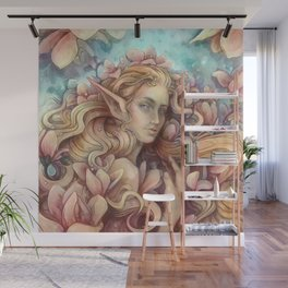 Magnolia Wall Mural