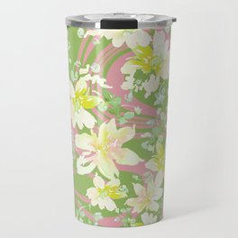Grace Floral Swirl Travel Mug