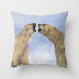 Polar Throw Pillow