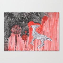Wrath of Bambi Canvas Print