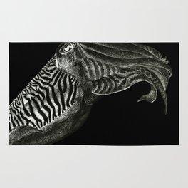 Cuttlefish - black Rug