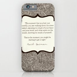 Get it Right iPhone Case