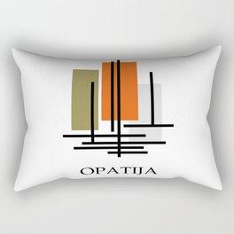 Glory to Yugoslavian design Rectangular Pillow