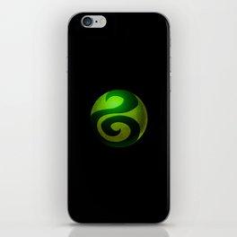 Design-22 Green iPhone Skin