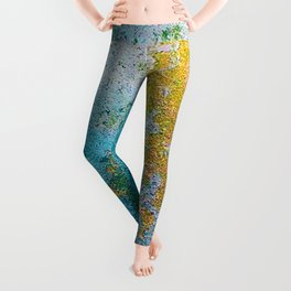 Chipping Paint Leggings