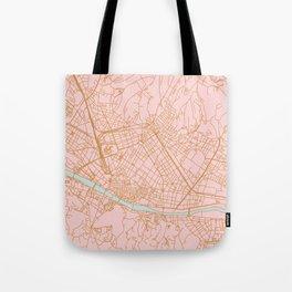 Firenze map Tote Bag