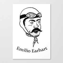 Emilio Earhart Canvas Print