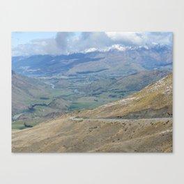 New Zealand Crown Ranges Canvas Print