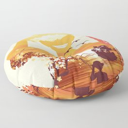 Pirate King One Piece Floor Pillow