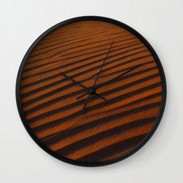 Golden Desert  Wall Clock