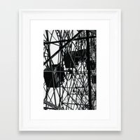 cage Framed Art Prints featuring Cage by fOtosDePeNa