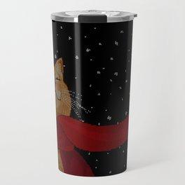 Knitted Wintercat Travel Mug