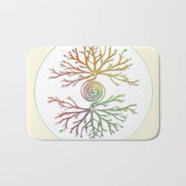 Tree of Life in Balance Bath Mat