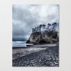 Lonely Beach II Canvas Print
