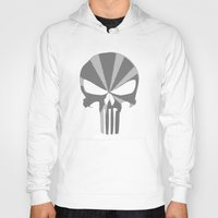 punisher Hoodies featuring The Punisher by Andrian Kembara