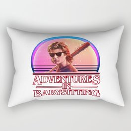 Adventures In Babysitting Rectangular Pillow