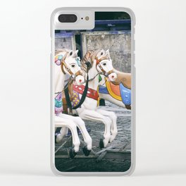 Carousel Three Clear iPhone Case