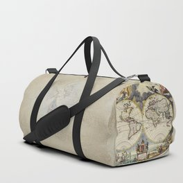 World Old Map Duffle Bag