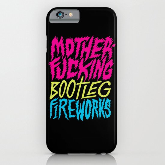Bootleg Fireworks iPhone & iPod Case
