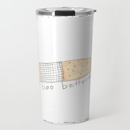 Get well or well wishes Travel Mug