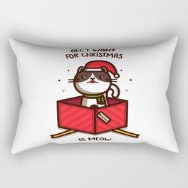 All I want for Christmas... Rectangular Pillow