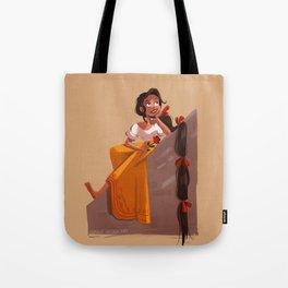 Mexican Rapunzel Tote Bag