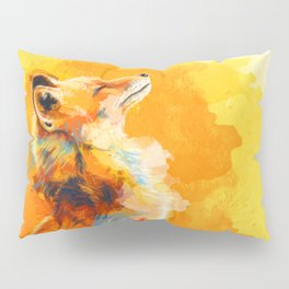 Blissful Light - Fox portrait Pillow Sham
