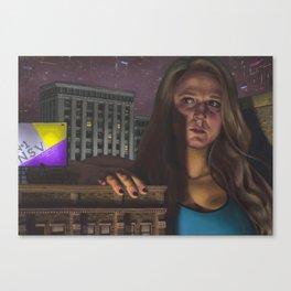 The Vigil Canvas Print