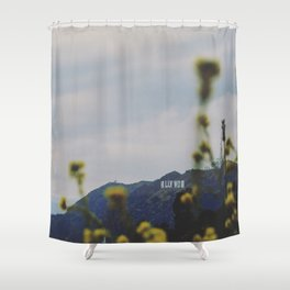 Quiet Hollywood Shower Curtain
