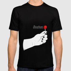 Sucker MEDIUM Mens Fitted Tee Black