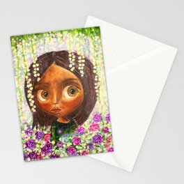 Lilacs and Roses Stationery Cards
