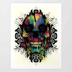 Better Colour Than Dead - Collaboration Art Print