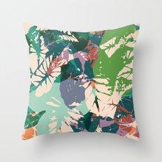 Calladium Throw Pillow