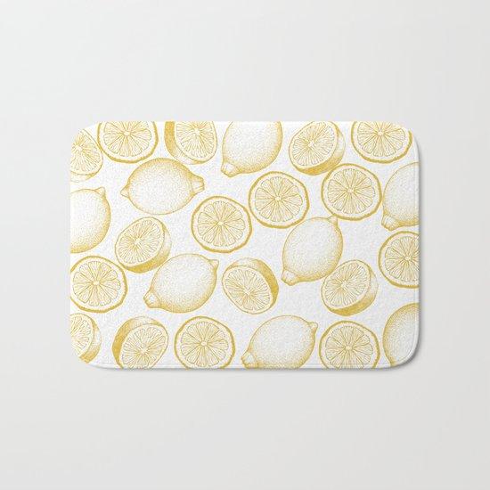 Lemons Bath Mat