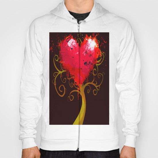 The tree of the Valentine's Day Hoody