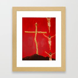 Cross to Bear Framed Art Print