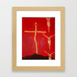 Cross to Bear Framed Art Print