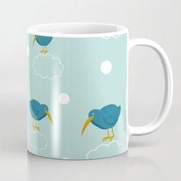 Kiwi birds on the clouds Coffee Mug